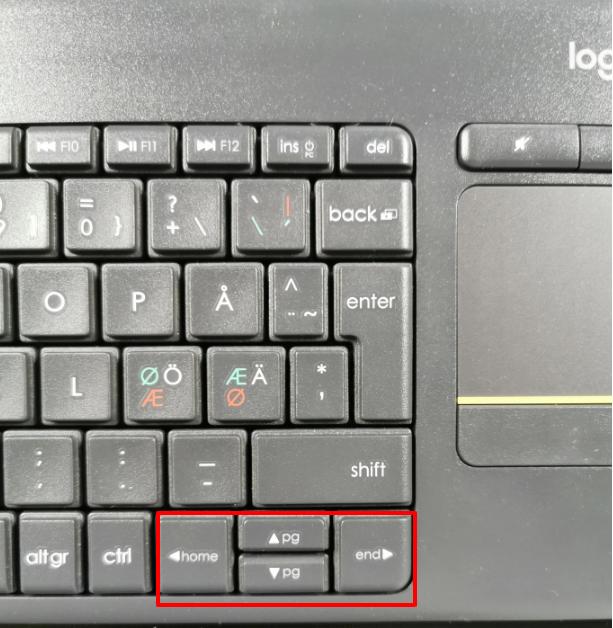 Tastatur og touch funksjon fungerer ikke lengre Windows 10